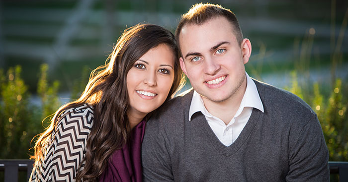 young couple smile - Dentist Florence and Canon City Colorado